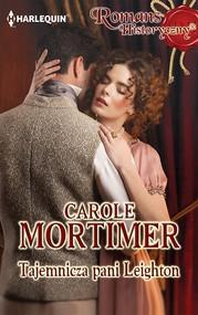 okładka Tajemnicza pani Leighton, Ebook | Carole Mortimer