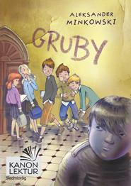 okładka Gruby, Ebook | Aleksander Minkowski