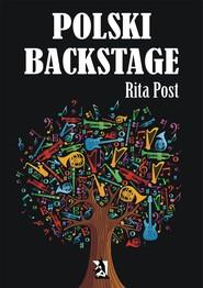 okładka Polski backstage, Ebook   Rita Post