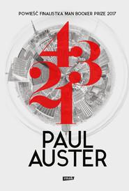 okładka 4 3 2 1, Ebook | Paul Auster