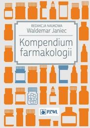 okładka Kompendium farmakologii, Ebook   Waldemar  Janiec