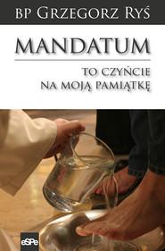 okładka Mandatum, Ebook | Grzegorz Ryś