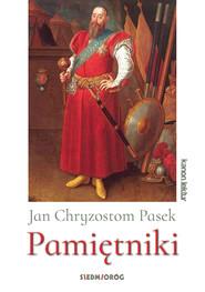 okładka Pamiętniki, Ebook | Jan Chryzostom  Pasek