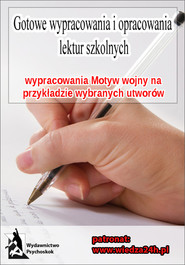okładka Wypracowania - Motyw wojny, Ebook | Praca Zbiorowa