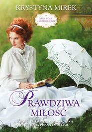 okładka Prawdziwa miłość. , Ebook | Krystyna Mirek