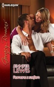 okładka Romans z szefem, Ebook | Jennifer Lewis