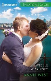 okładka Wesele w Sydney, Ebook   Annie West