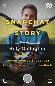 okładka Snapchat Story, Ebook | Billy Gllagher