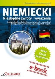 okładka Niemiecki - Niezbędne zwroty i wyrażenia, Ebook | autor zbiorowy