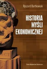 okładka Historia myśli ekonomicznej, Ebook | Ryszard  Bartkowiak