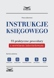 okładka Instrukcje księgowego. 53 praktyczne procedury, Ebook | INFOR PL S.A.