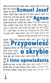okładka Przypowieść o skrybie i inne opowiadania, Ebook | Szmuel Josef Agnon