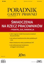 okładka Świadczenia na rzecz pracowników – podatki, ZUS, ewidencja, Ebook | INFOR PL S.A.