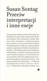 okładka Przeciw interpretacji i inne eseje, Ebook | Susan Sontag