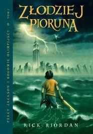 okładka Złodziej pioruna, Ebook | Rick Riordan