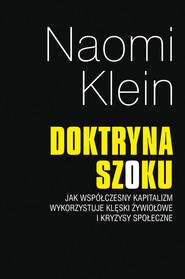 okładka Doktryna szoku, Ebook | Naomi Klein