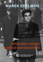 okładka Marek Edelman, Ebook | Marek Edelman, Martyna  Rusiniak-Karwat