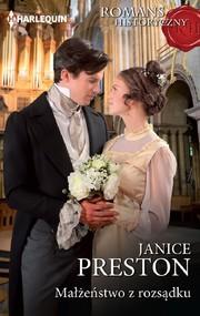 okładka Małżeństwo z rozsądku, Ebook | Janice Preston