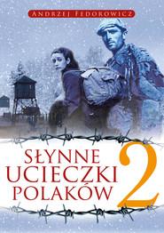 okładka Słynne ucieczki Polaków 2, Ebook   Andrzej Fedorowicz