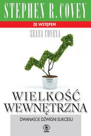 okładka Wielkość wewnętrzna, Ebook | Stephen R. Covey
