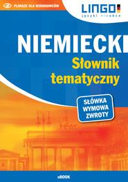 okładka Niemiecki. Słownik tematyczny. eBook, Ebook | Tomasz Sielecki
