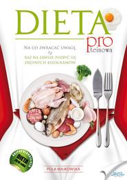 okładka Dieta proteinowa, Ebook | Pola  Majkowska