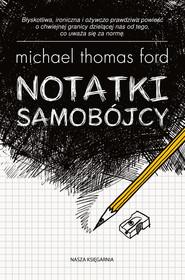 okładka Notatki samobójcy, Ebook   Michael Thomas Ford