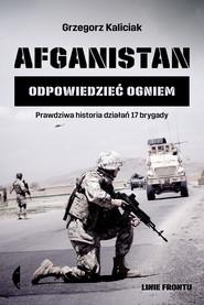 okładka Afganistan, Ebook | Grzegorz Kaliciak