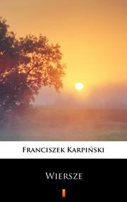 okładka Wiersze, Ebook | Franciszek Karpiński