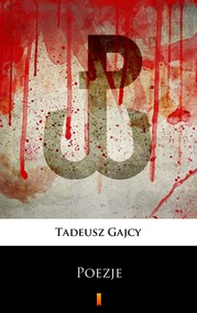 okładka Poezje, Ebook | Tadeusz Gajcy