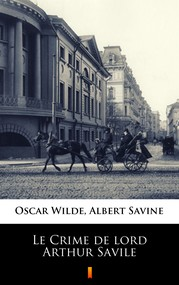 okładka Le Crime de lord Arthur Savile, Ebook | Oscar Wilde