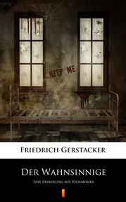 okładka Der Wahnsinnige, Ebook   Friedrich Gerstäcker