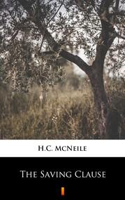okładka The Saving Clause, Ebook | H.C. McNeile