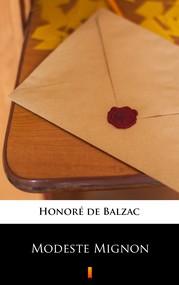 okładka Modeste Mignon, Ebook | Honoré  de Balzac