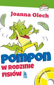 okładka Pompon w rodzinie Fisiów, Ebook   Joanna Olech