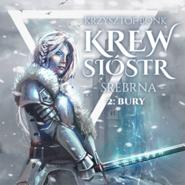 okładka Krew sióstr. Srebrna: Bury, Audiobook | Krzysztof Bonk