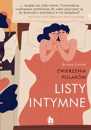 okładka Listy intymne. Zwierzenia Polaków, Ebook | Stasiak Bożena