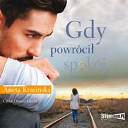 okładka Gdy powrócił spokój, Audiobook | Aneta Krasińska