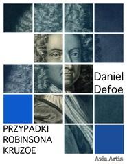okładka Przypadki Robinsona Kruzoe, Ebook   Daniel Defoe