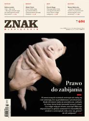 okładka Miesięcznik ZNAK ZNAK Miesięcznik nr 694 (3/2013), Ebook | autor zbiorowy
