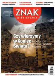 okładka Miesięcznik ZNAK Miesięcznik Znak - grudzień 2012, Ebook | autor zbiorowy