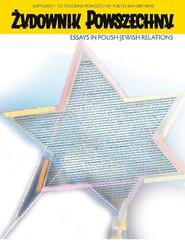 okładka Tygodnik Powszechny Żydownik Powszechny. Wersja angielska, Ebook   Opracowanie zbiorowe
