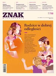 okładka Miesięcznik ZNAK nr 732 (5/2016): Rodzice w dobrej odległości, Ebook | autor zbiorowy