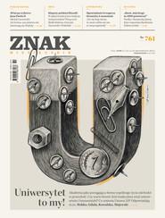 okładka Miesięcznik ZNAK nr 761, Ebook | autor zbiorowy