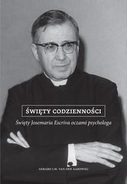 okładka Święty codzienności, Ebook   dr Gerard J.M. van der  Aardweg