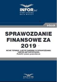 okładka Sprawozdanie finansowe za 2019 r., Ebook | Opracowanie zbiorowe