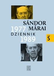 okładka Dziennik 1977-1989, Ebook | Sándor Márai