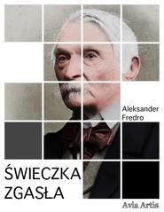 okładka Świeczka zgasła, Ebook | Aleksander Fredro