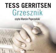okładka Grzesznik, Audiobook   Tess Gerritsen