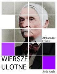 okładka Wiersze ulotne, Ebook | Aleksander Fredro